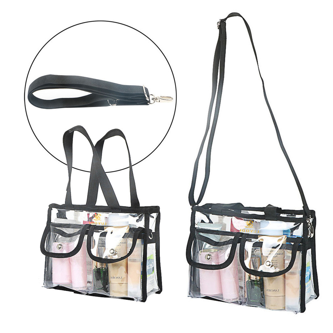 Transpa Makeup Tote Bag Cosmetic