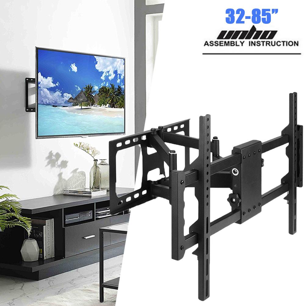 "Articulating Smart TV Wall Mount Full Motion Swivel Bracket LCD LED 32/""-75/"" Inch"