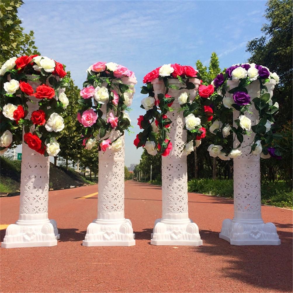 White Swans And Roman Wedding Columns Decoration Set Usa Ebay