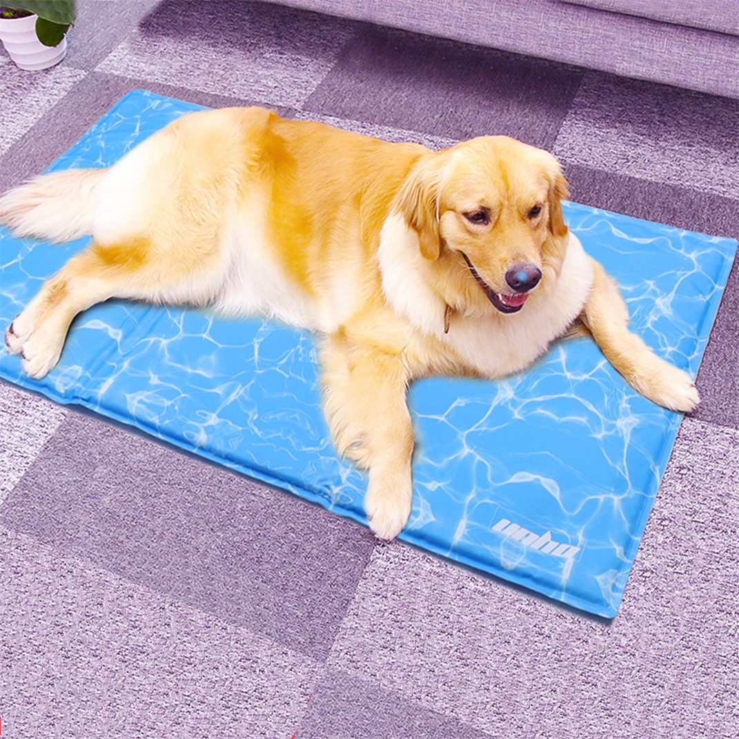 Pet Dog Self Cooling XL Size Gel Pad Mat Kennel Summer Heat Relief Crates Bed
