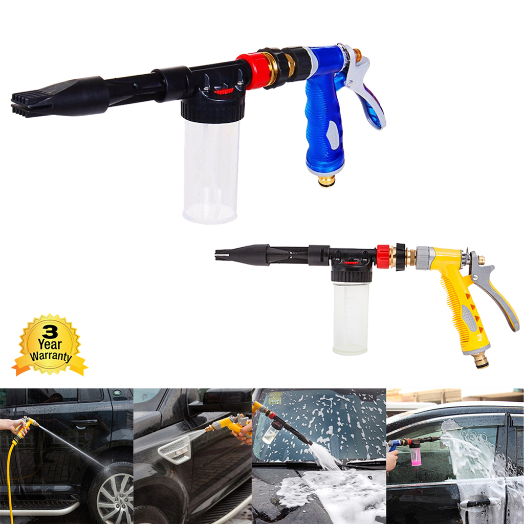 Car Washer High Pressure Snow Foamer Water Gun 900ml Car Cleaning Foam Gun Washing Foamaster Gun Water Soap Shampoo Sprayer Back To Search Resultshome