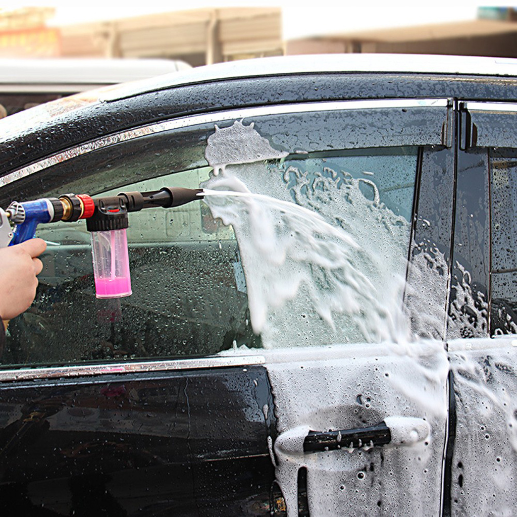 hot car clean pressure wash water washer soap snow foam lance sprayer gun ebay. Black Bedroom Furniture Sets. Home Design Ideas