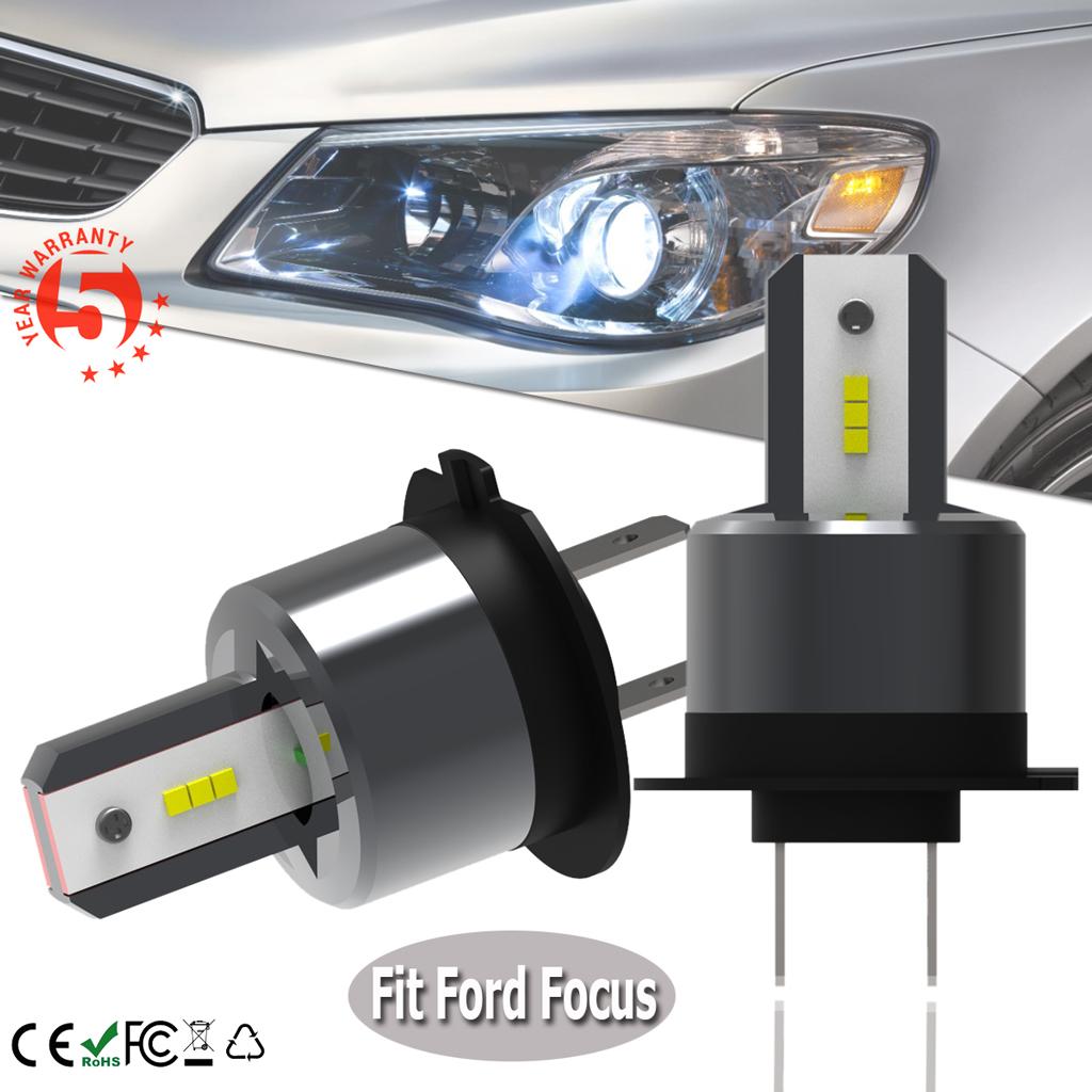 LED Headlight CREE Bulb Hi//Lo Kit H4 9003 6000K White For 2000-2004 Ford Focus