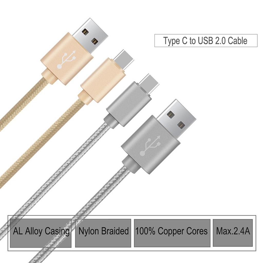 USB-C Type C Kabel Ladekabel Datenkabel für Samsung Galaxy S8 S7 ...