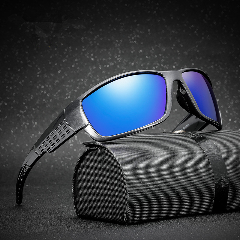 Vintage Men Polarized Sport Sunglasses Outdoor Riding Eyewear Driving Glasses