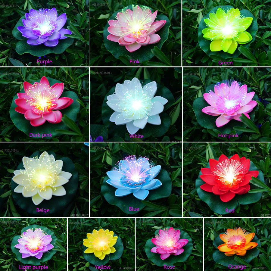 5 artificial floating beige waterproof lily lotus flowers optic pictures of lotus for your to choosetal 13 colors izmirmasajfo