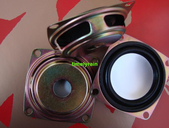 "2pcs 2/"" inch 52MM Radiation plate Foam edge radiator Passive speakers"