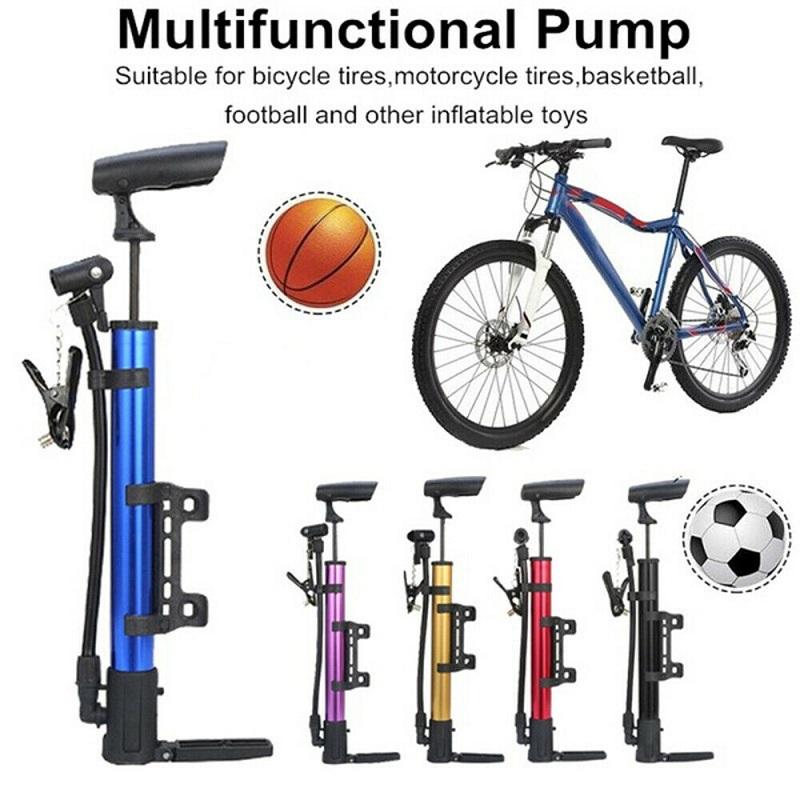 Mini Bicycle Hand Pump Portable Bike Air Pump Mountain Cycle Tire Ball Inflator