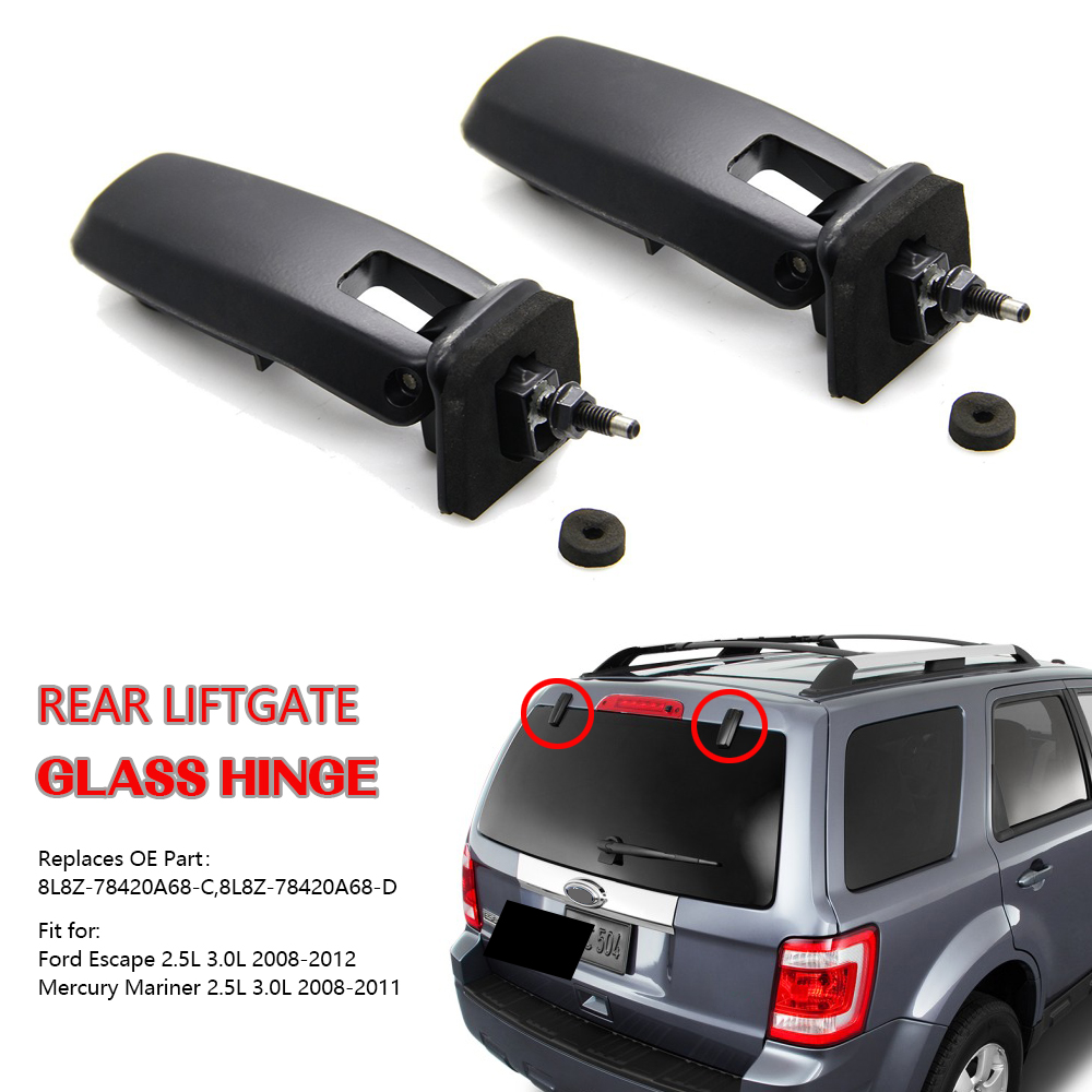 Mazda Tribute 2008-2011 New OEM left and right rear lift gate glass hinges