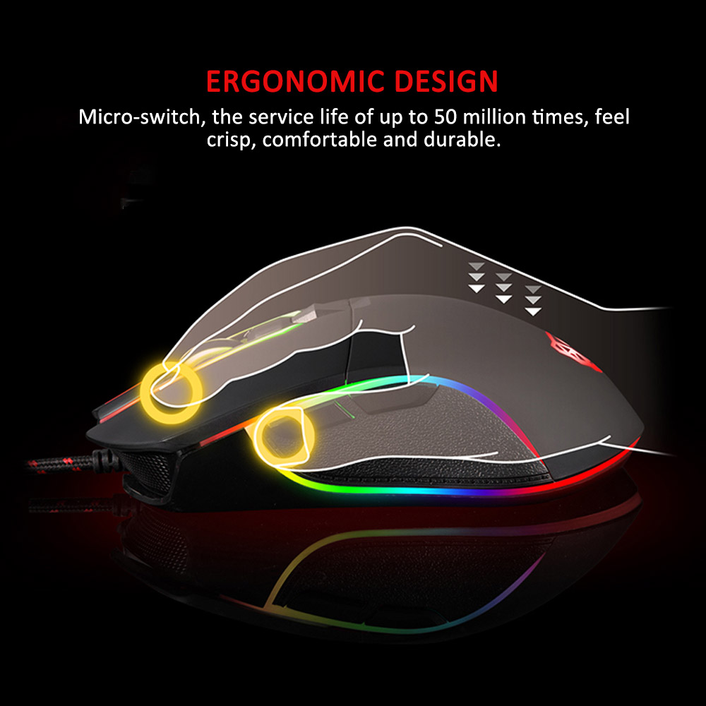 motospeed v30 3500dpi rgb photoelectric gaming mouse wired optical nbnk0009 5