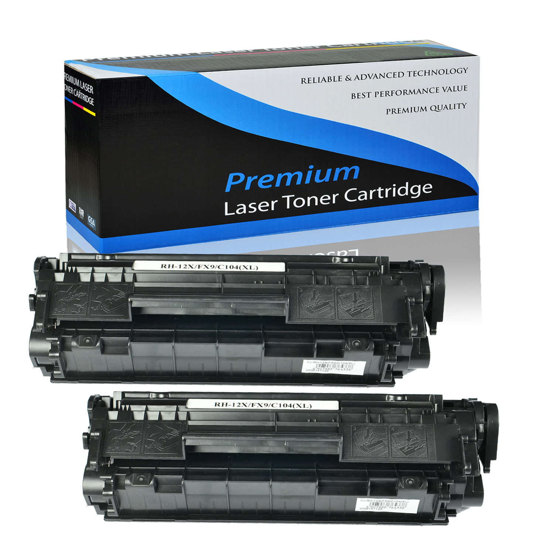 10 pk Q2612X Toner For HP LaserJet 3015 3020 3030 3050
