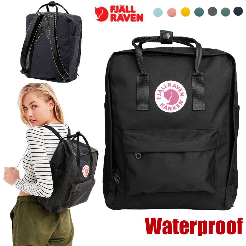 Fjallraven Kanken Rucksack Unisex shoulder Travel Backpack School casual Handbag