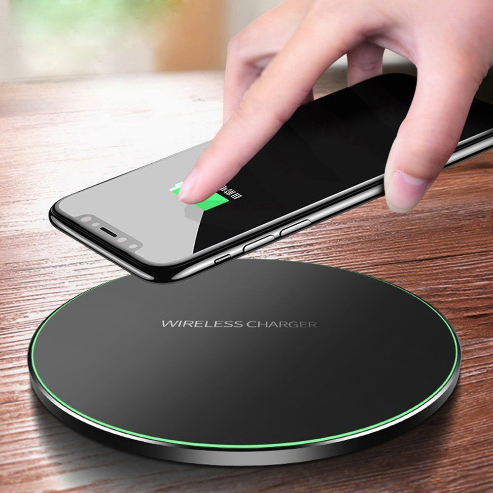 ladeger t wireless charger induktionsladeger t f r samsung. Black Bedroom Furniture Sets. Home Design Ideas