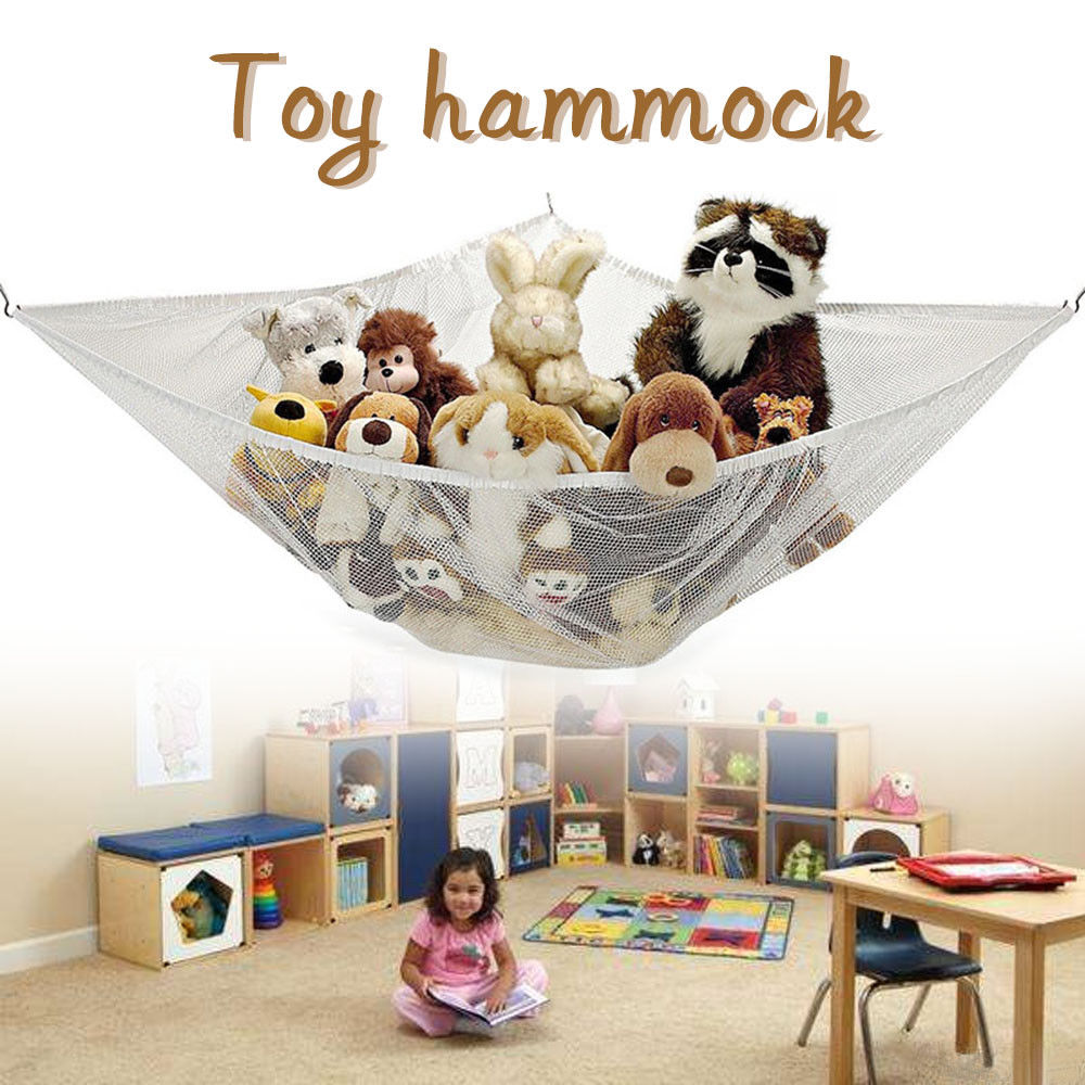 large soft toy hammock mesh baby child bedroom tidy teddy storage toy hammock storage ireland   storage designs  rh   nasdaq100open