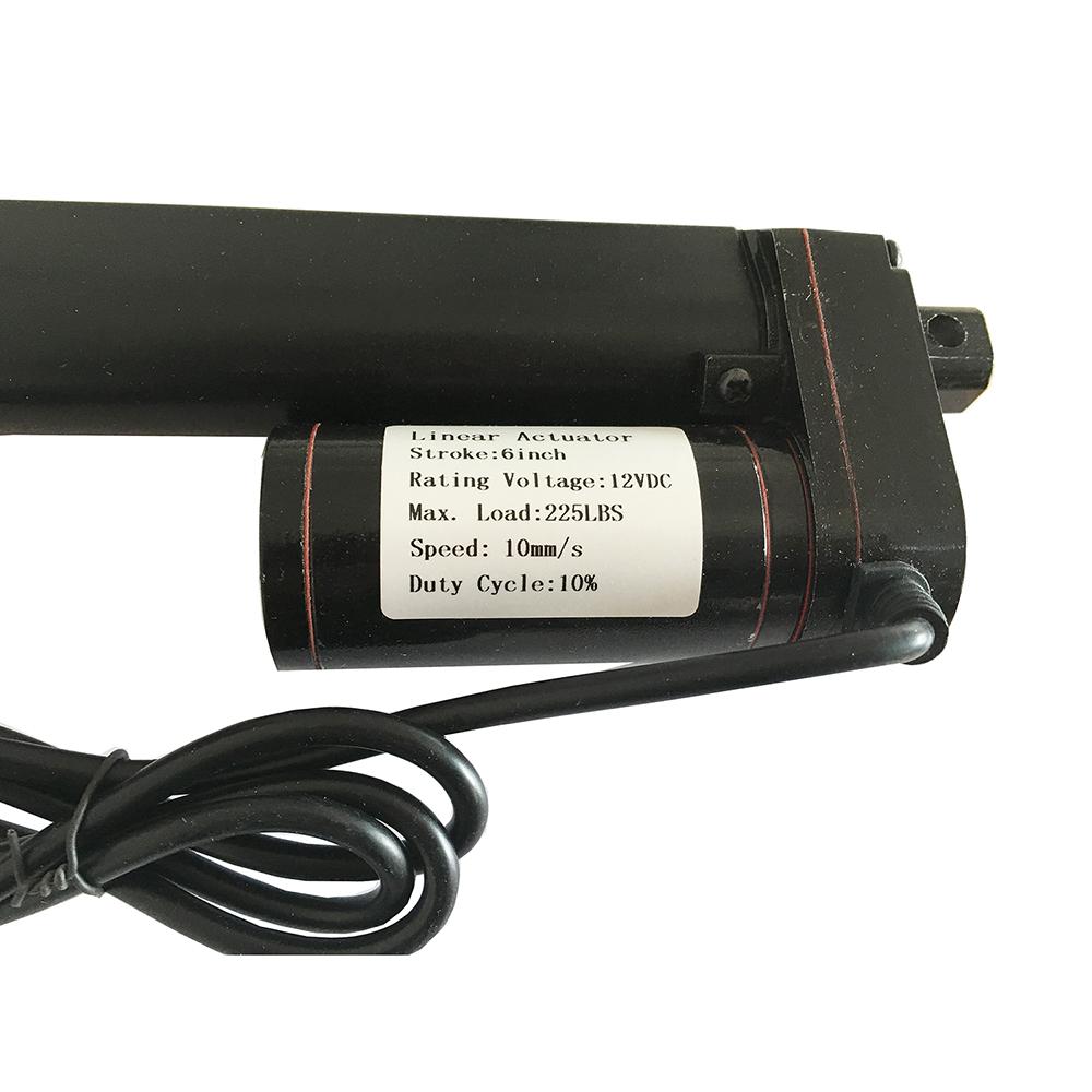 6 U0026quot  Inch Heavy Duty Linear Actuator Stroke 225 Pound Lb Max
