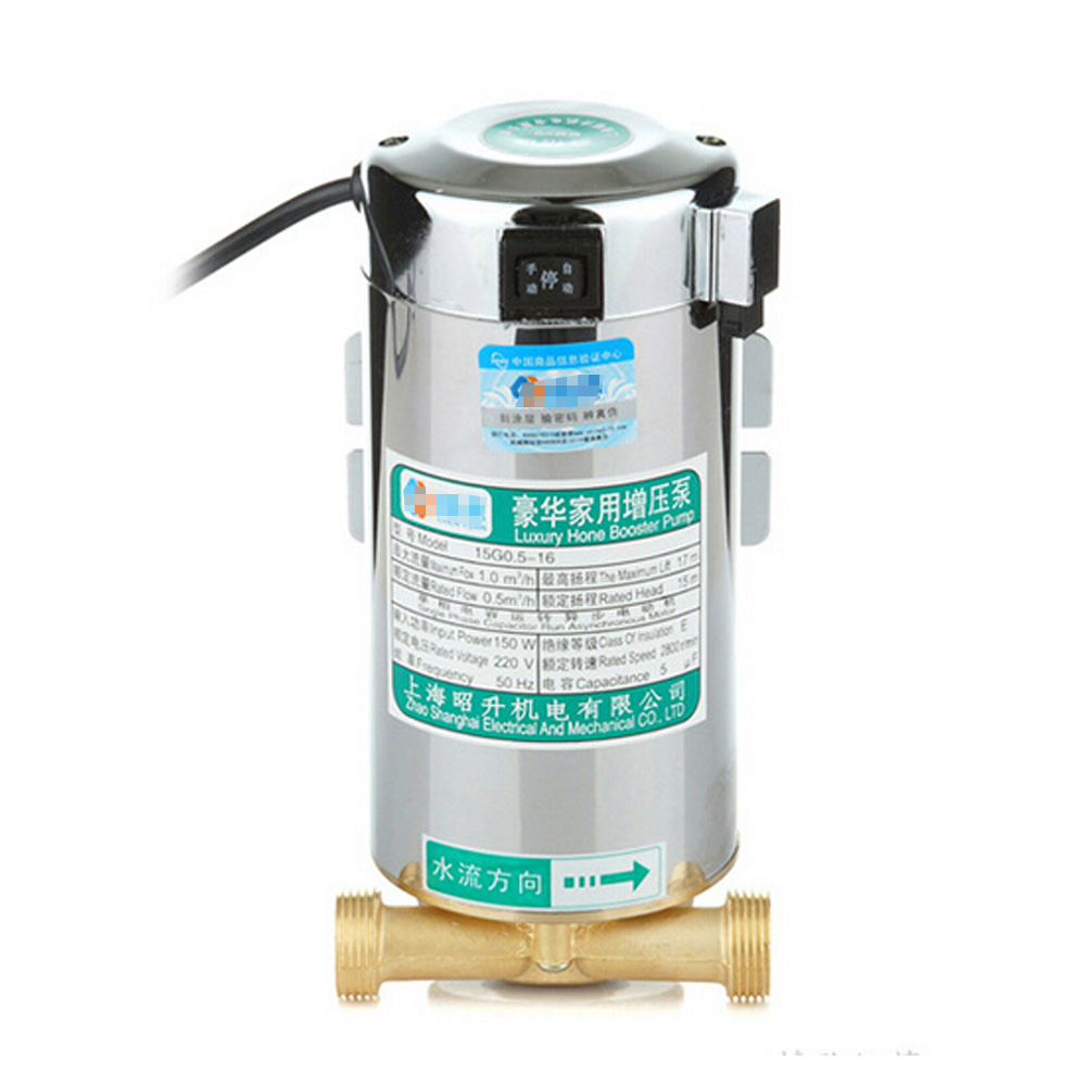 Domestic Household Electronic Automatic Mains Water Pressure Booster ...