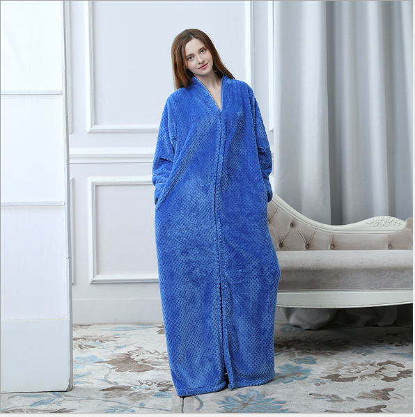 Flannel Pajamas Women &Men Bath Robes Sleepwear Night Gowns Set   eBay