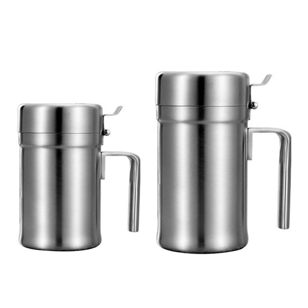 304 Stainless Steel Leakproof Olive Oil Dispenser Bottle For Kitchen ...
