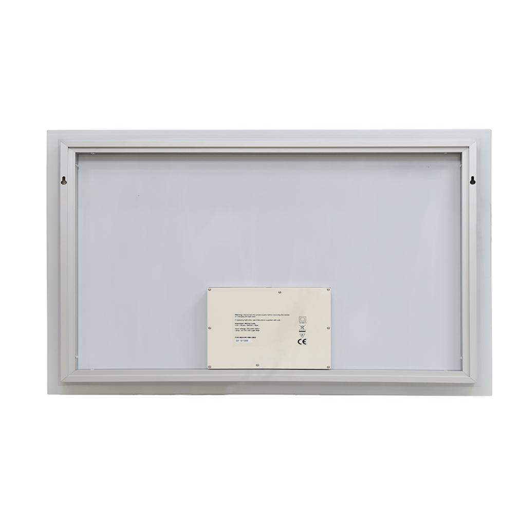 Led Design Lichtspiegel Badspiegel Wandspiegel: 100x60cm LED Badspiegel Wandspiegel Badezimmerspiegel