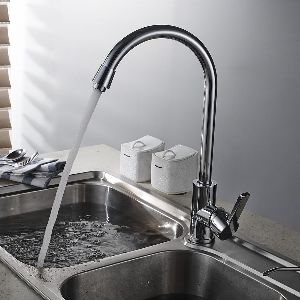 360° Schwenkbar Küchenarmatur Wasserhahn Einhebel Spültischarmatur ...
