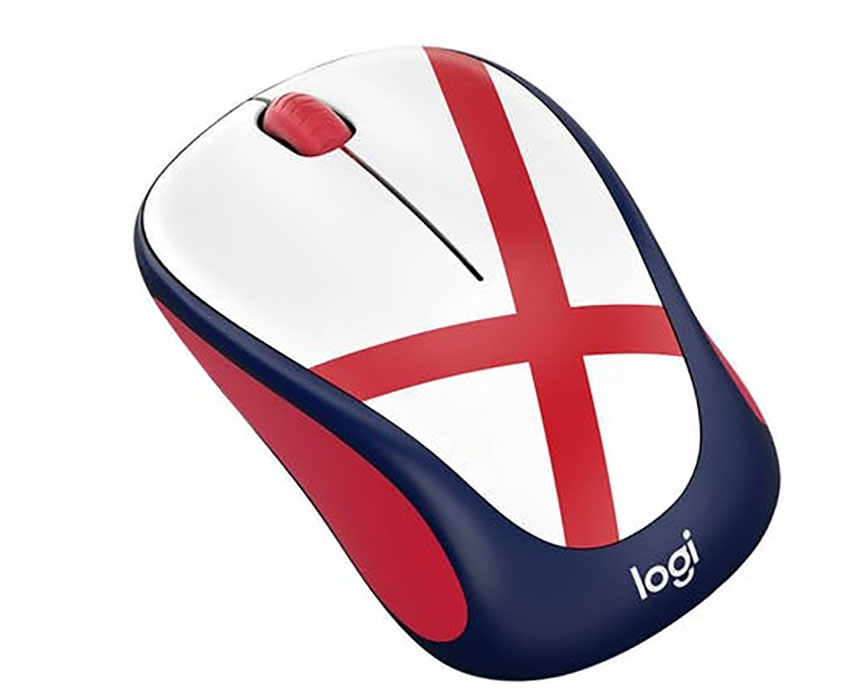 England Logitech M238 World Cup Edition Wireless Mouse