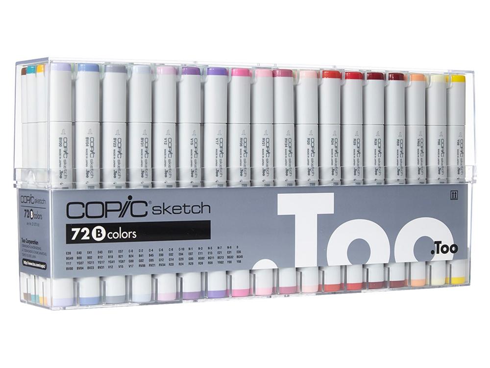 Copic Sketch Markers 72pc Set Set B