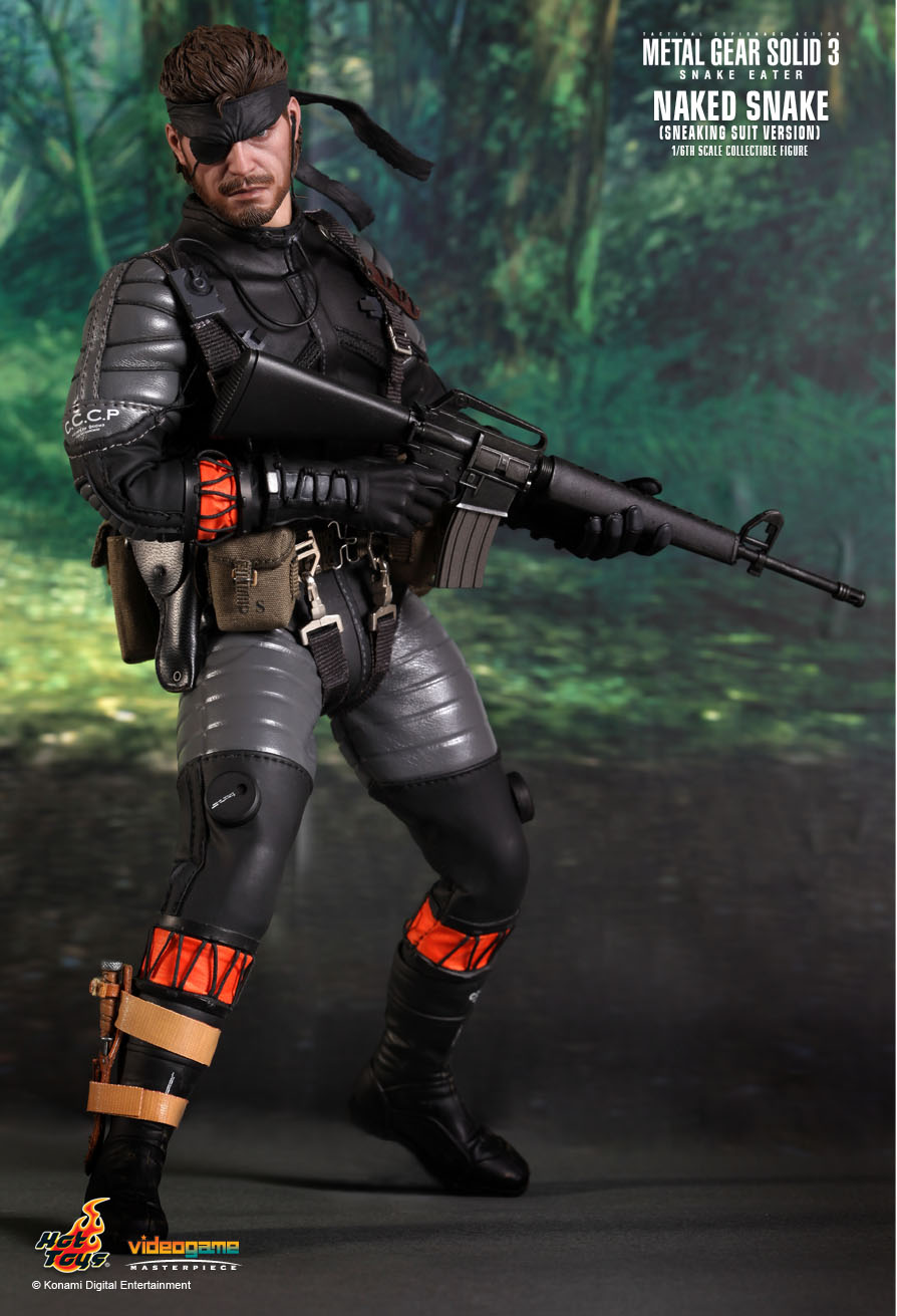 - Hot Toys Metal Gear Solid Naked Snake 1/6 Scale Action