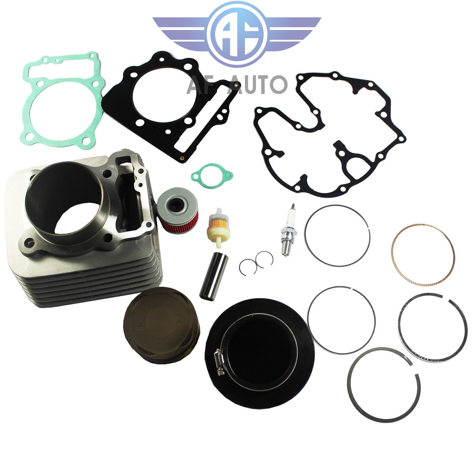 Top End Gasket Kit Fit 1999-2008 Honda Sportrax 400 TRX400EX 2x4 09-14 TRX400X