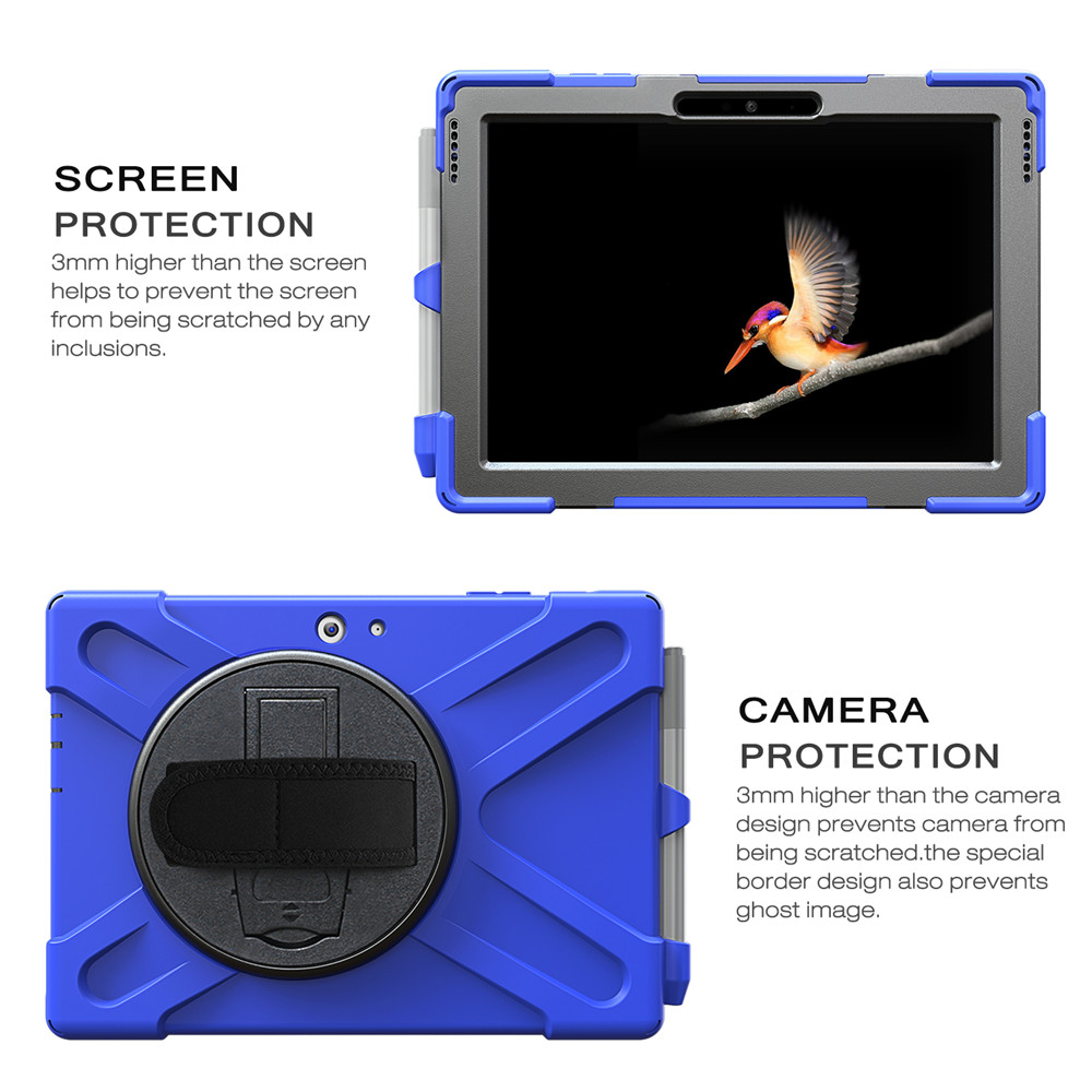 Details about Rugged Hard Case Cover Full Body Tablet Protector For  Microsoft Surface Pro 4 5