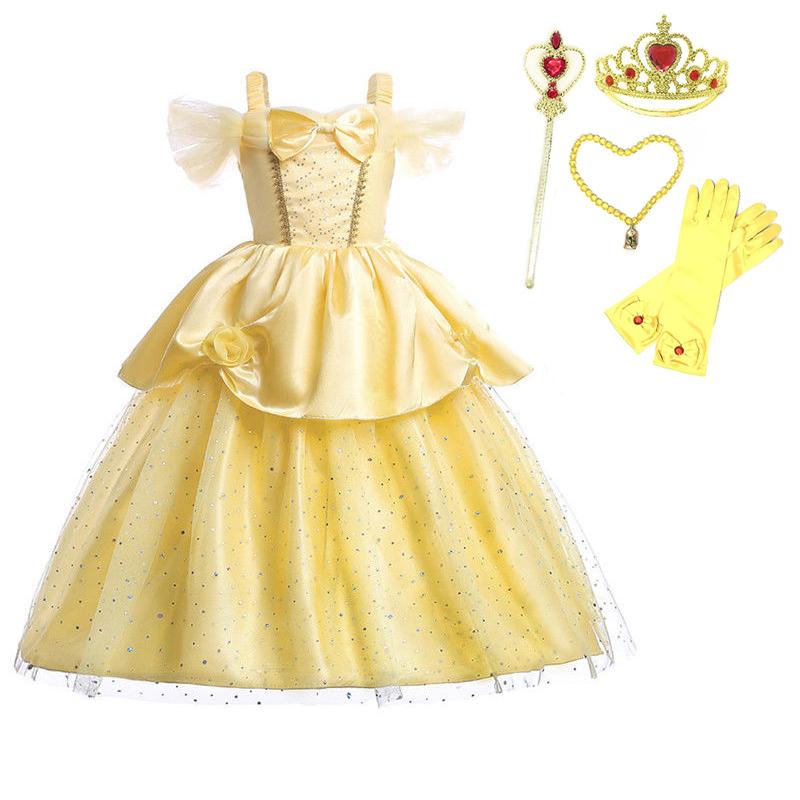 Girls Storyteller Cinderella Fancy Dress Princess Book Day Kids Costume