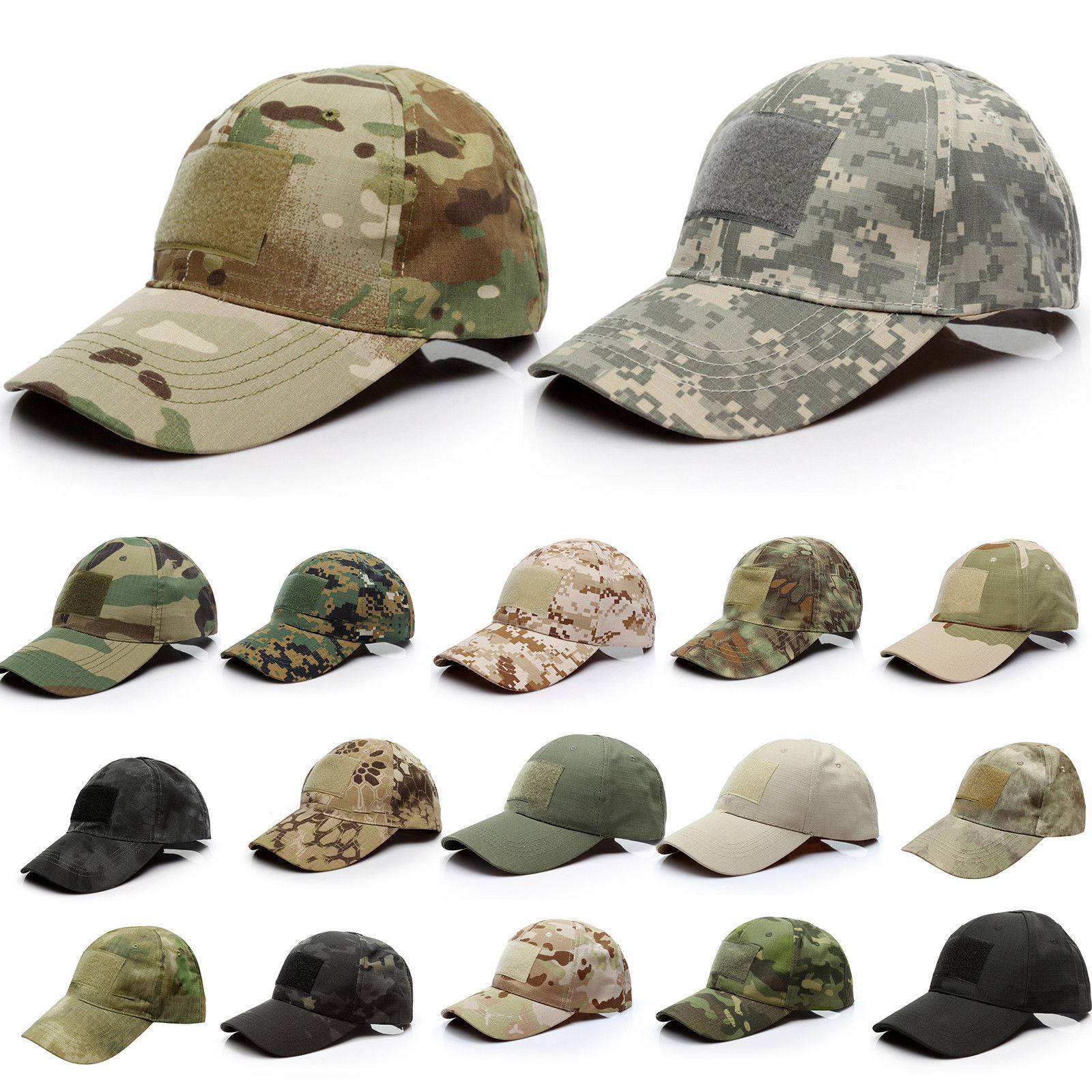 Men Tactical Operator Baseball Hat Military Army Special Forces Airsoft Cap
