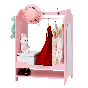 Kinbor Kids Size Dress Up Unit Pretend Mirror Closet