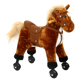 Kids Girls Boys Walking Pony Ride on Horse Plush Rocking ... - photo#33