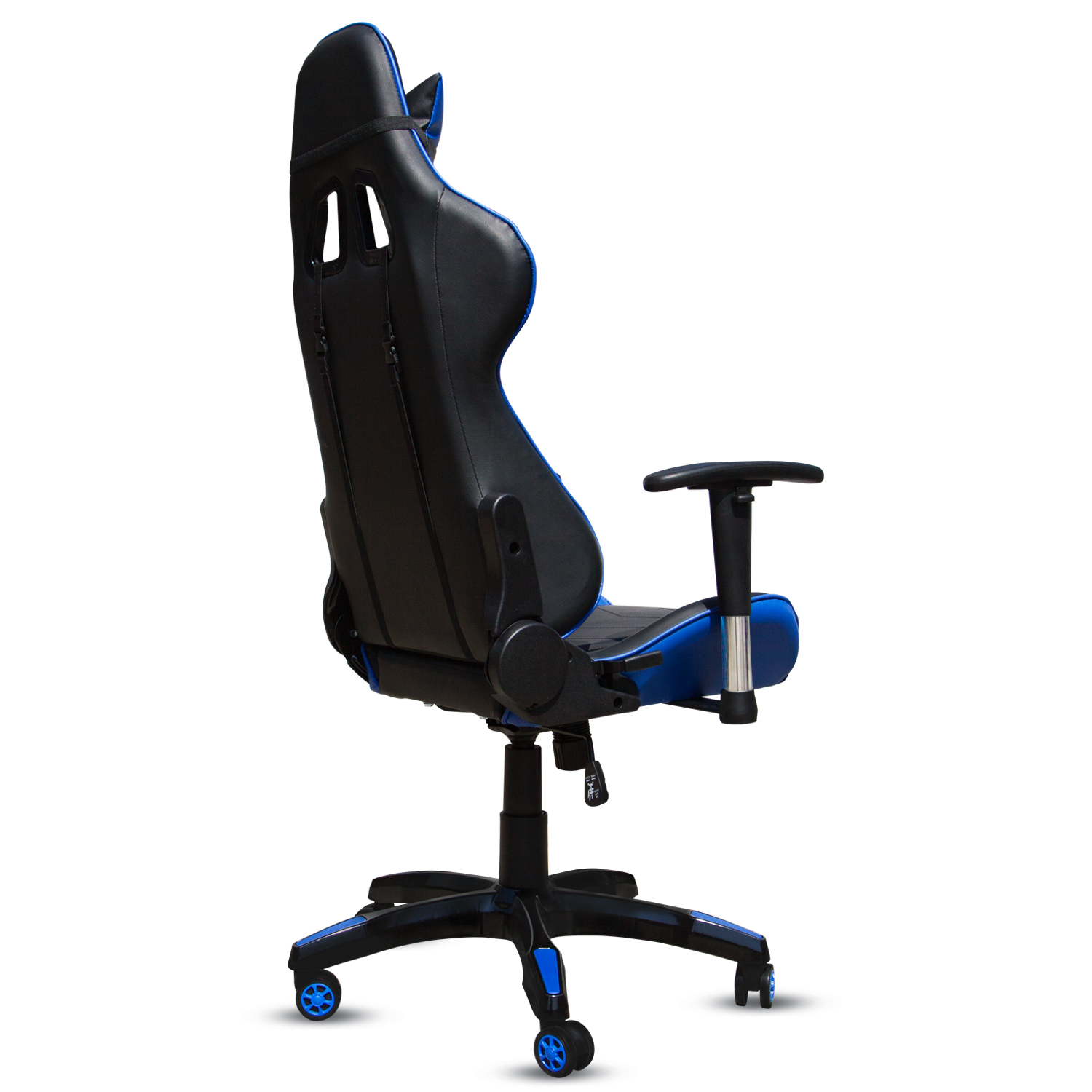 Executive Racing Gaming Chair Rake High Back Reclining PU Leather