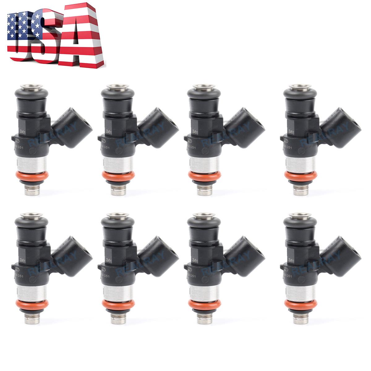 Details about 8 Fuel Injectors LS3 LS7 L76 L9 2 L98 L99 LS9 LSA Corvette C6  Z06 Camaro G8