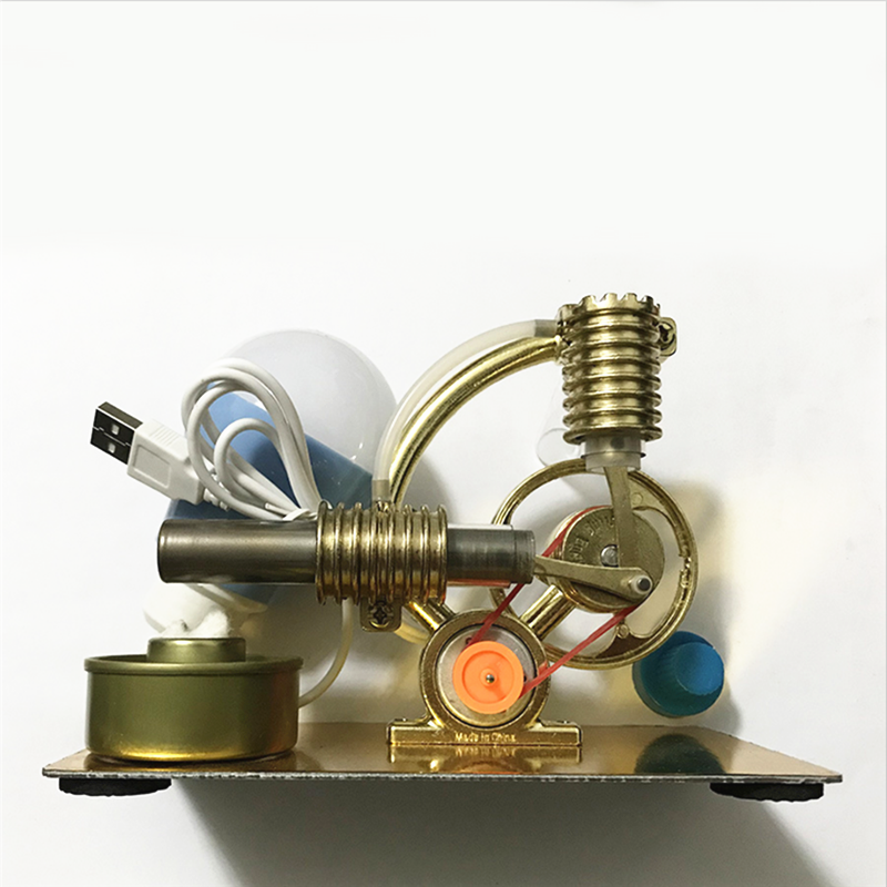 Alcohol Lamp with Wick Stirling Engine Accessories Mini Cylinder Piston