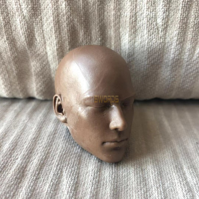 Free Shipping 1//6 scale Head Sculpt holy man africa monk Sh unpainted close eyes