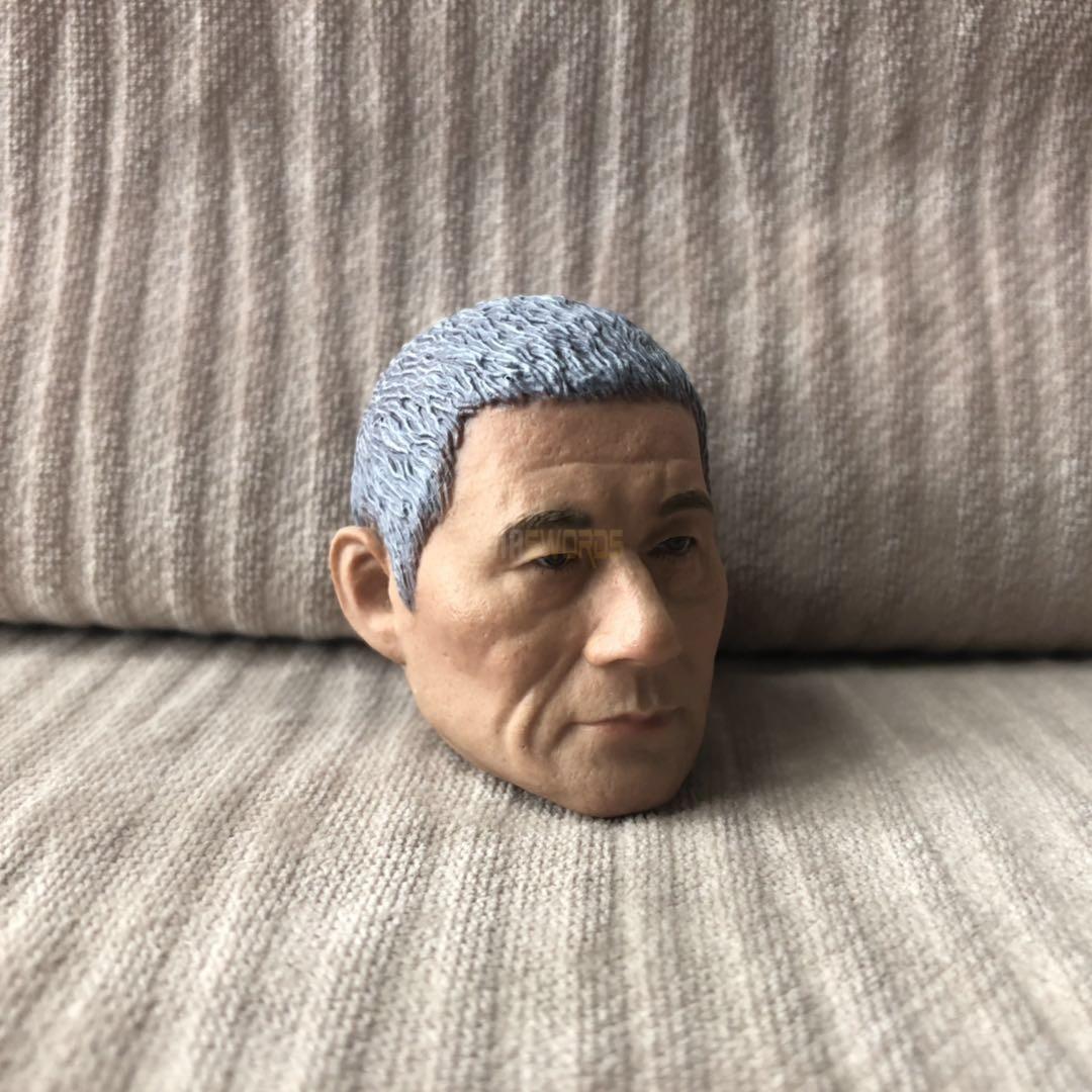 1//6 scale Blank Head Sculpt Kitano Takeshi Beat Takeshi きたの たけし samurai unpaint