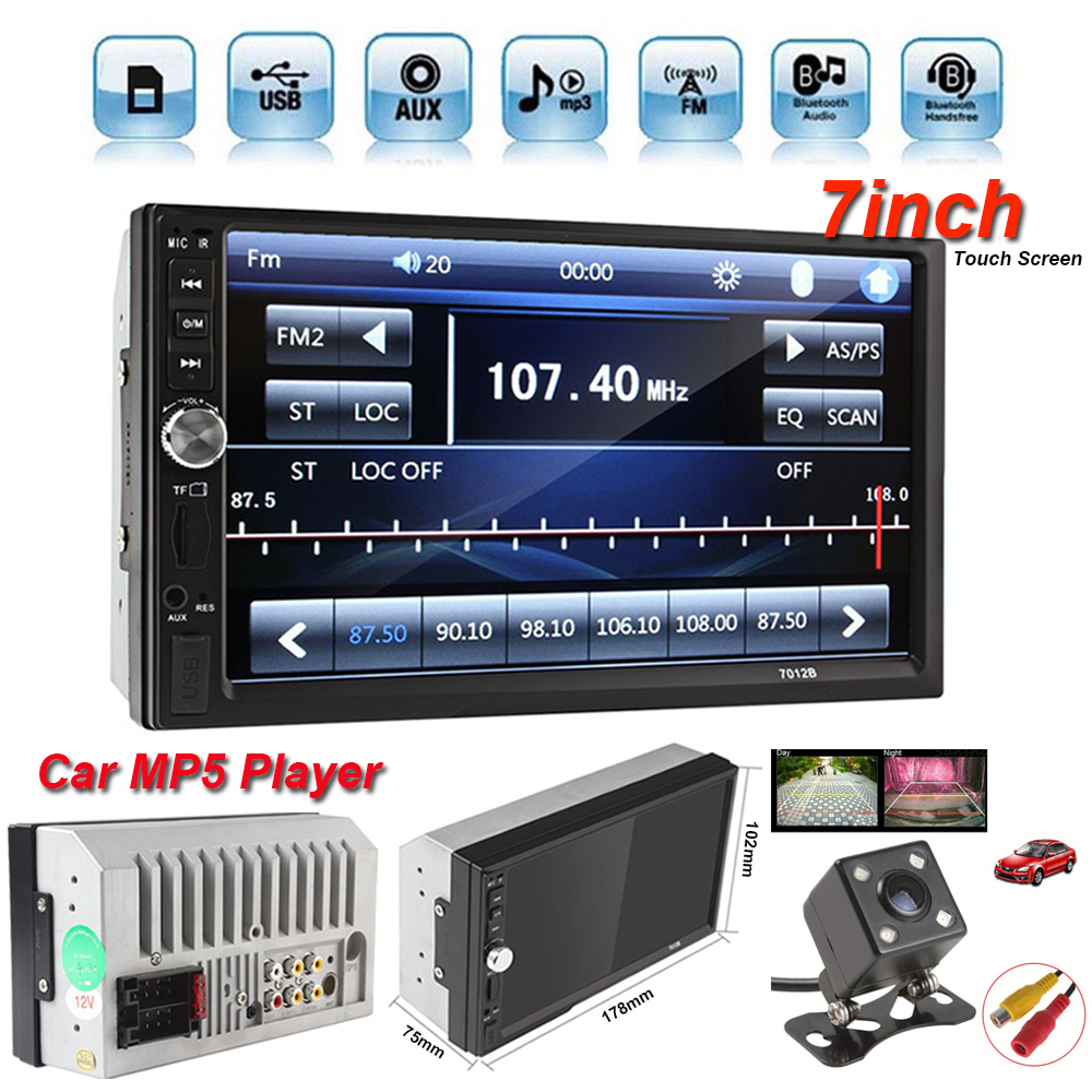 Details about Car Video MP5 Player 2 Din 7