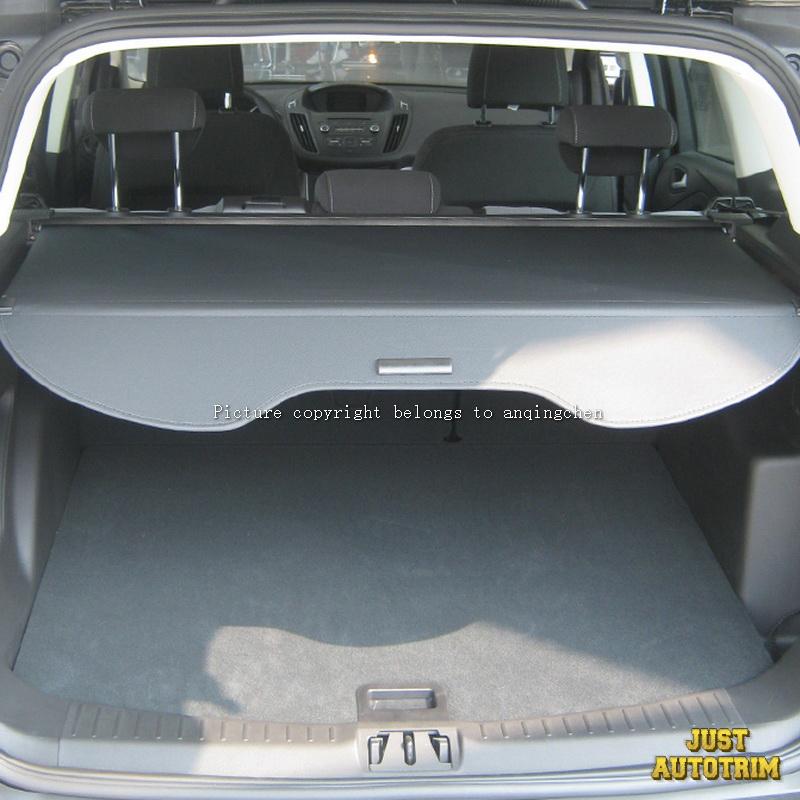 Aluminio Aleacion Carga Trasera Cubierta De Lona Elastico Para El 2013 2017 Ford Escape Ebay