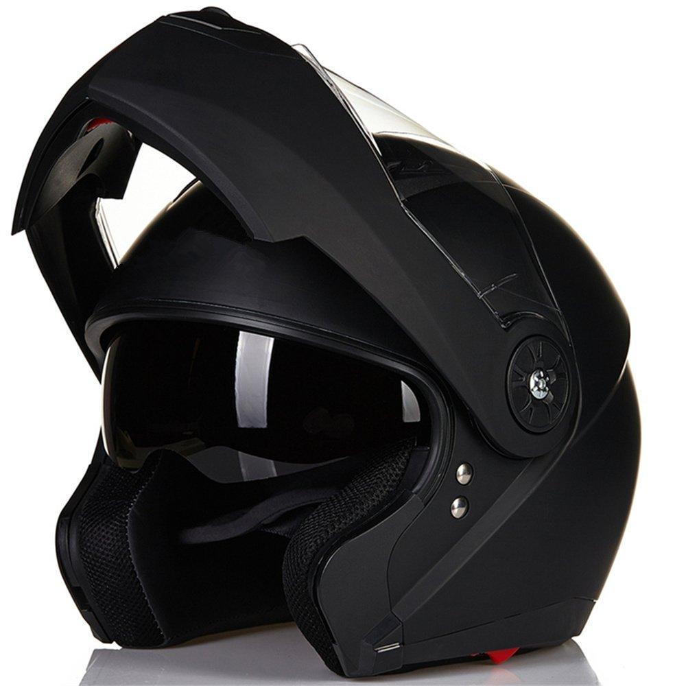 ILM Motorcycle Helmet Full Face Modular Flip Up Helmet Mountain Bike Helmets DOT