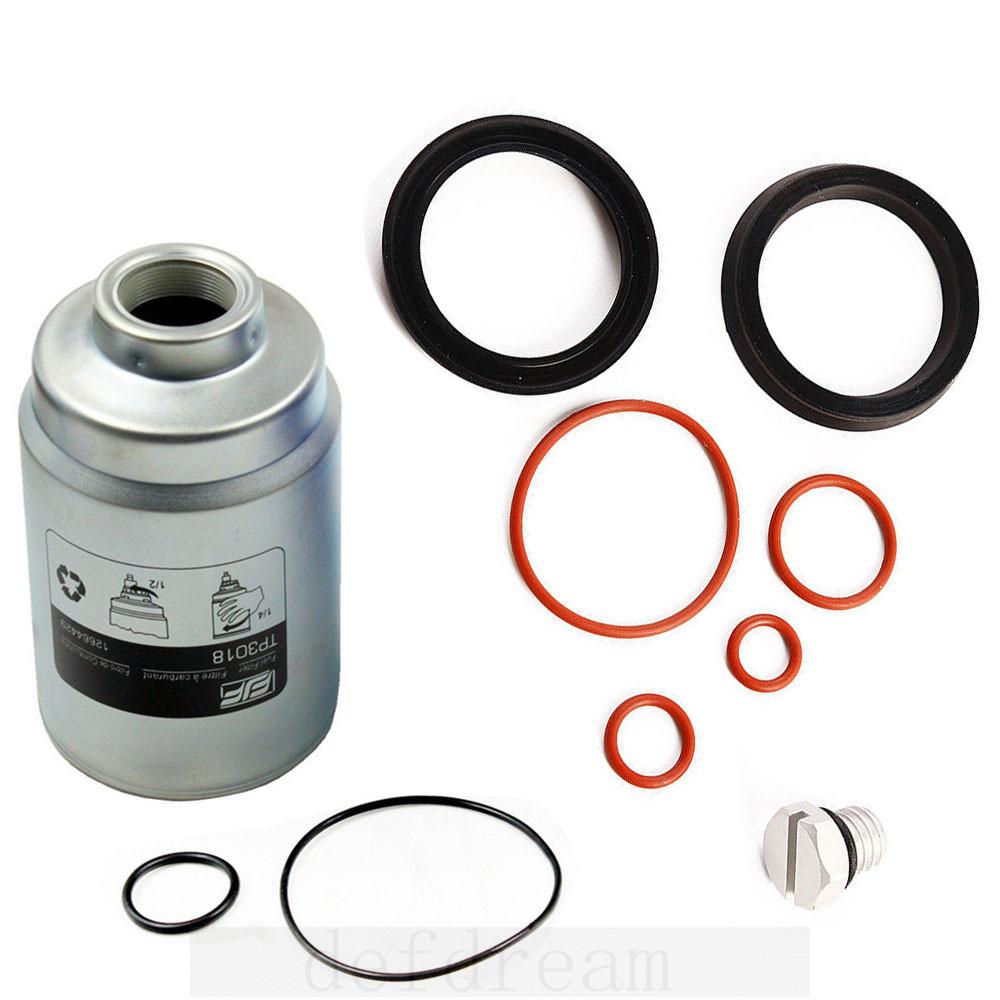 Duramax Fuel Filter Rebuild 2004 Housing 2007 Def Seal Kit Bleeder Screw For Tp3018