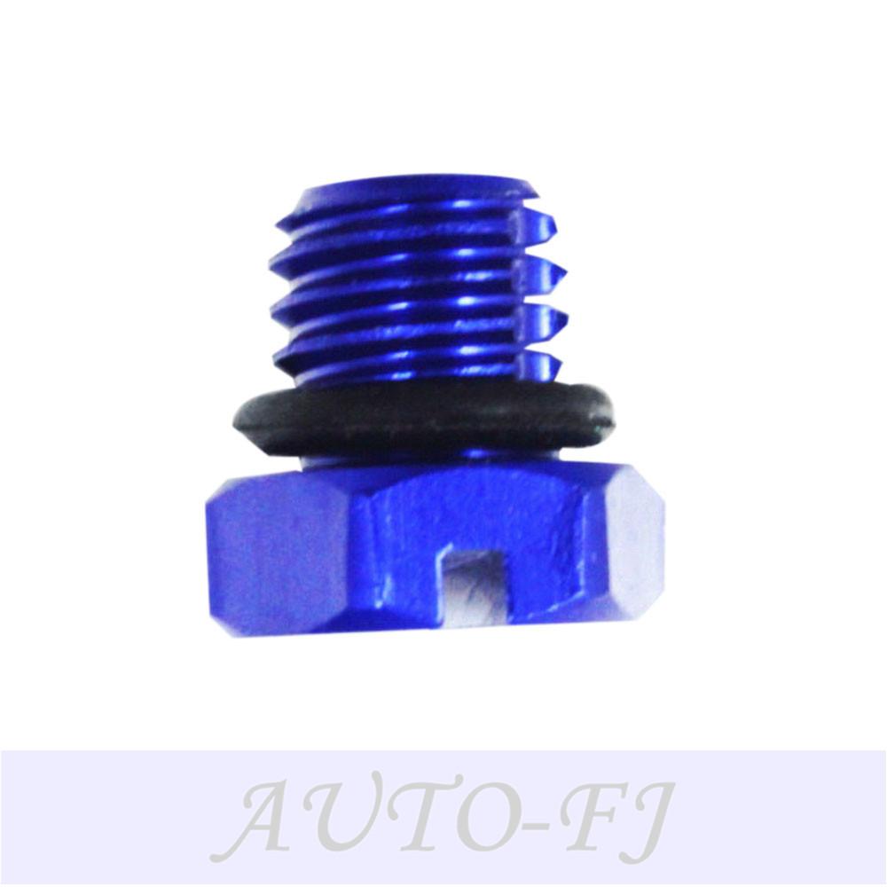 Air Bleeder Screw Blue, 6.6L Duramax CAT Fuel Filter Adapter Caterpillar  1R-0750