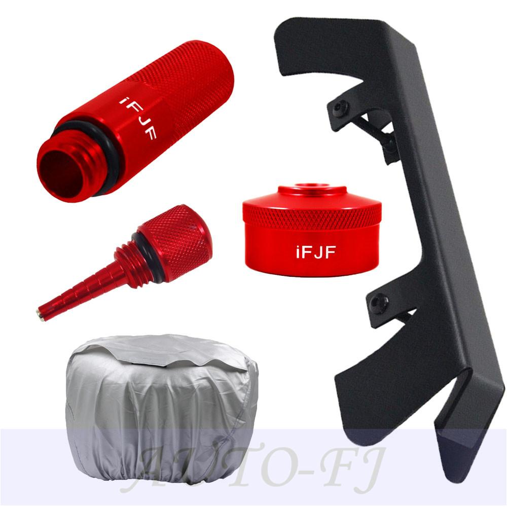 For Honda Theft Deterrent Bracket/&Run GasCap/&DipStick/&Oil Funnel/&Generator Cover