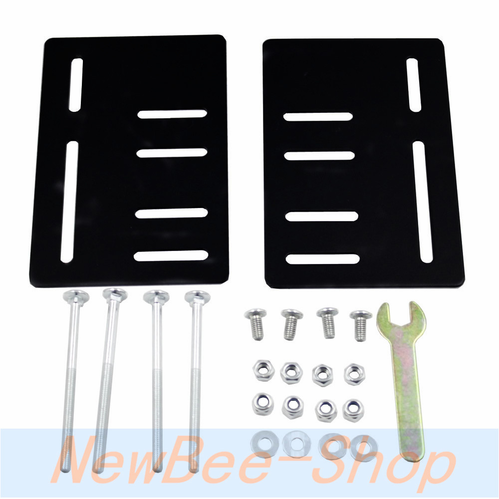 For Headboard Bracket Modification Modification Set of 2 Plates