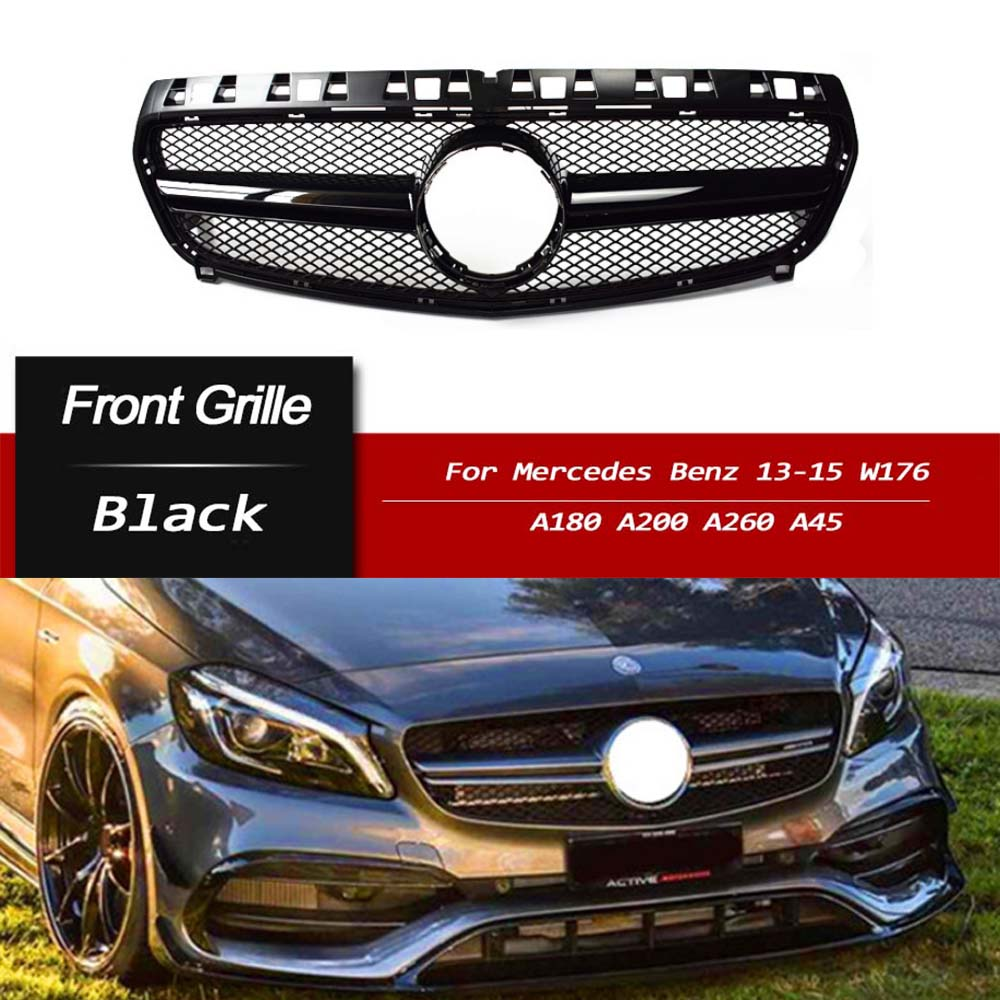 Front Grill Grille For Mercedes-Benz A Class W176 A200
