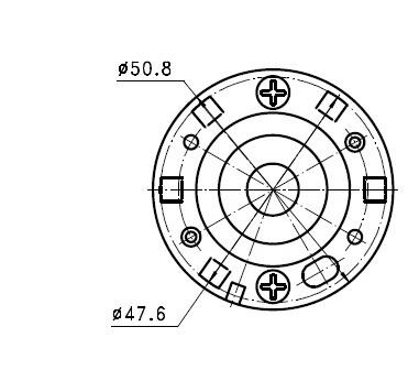 Dc Generator Motor 36w 12 24v Wind Turbine Permanent Magnet Dual