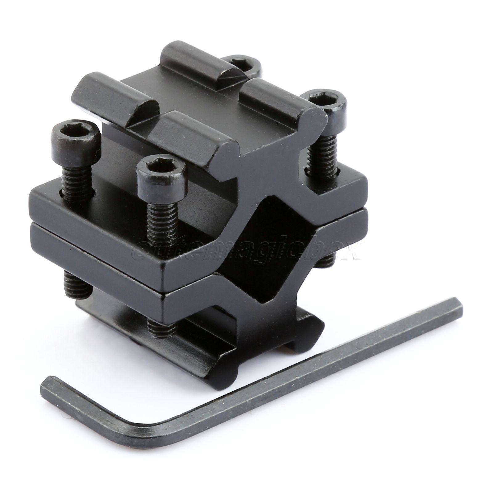 Universal Adjustable Rail 20mm Picatinny//Weaver Barrel Mount Bipod Adapter