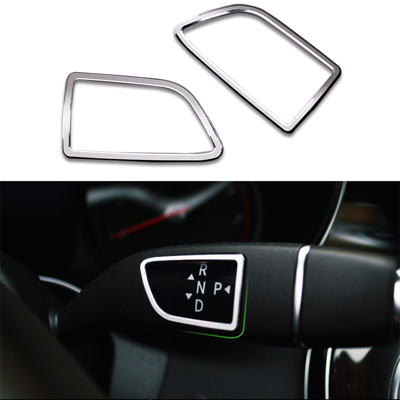 CHROME SILVER SIDE MIRROR RING TRIM FOR MERCEDES BENZ ML CLASS W166 X166 2012 on