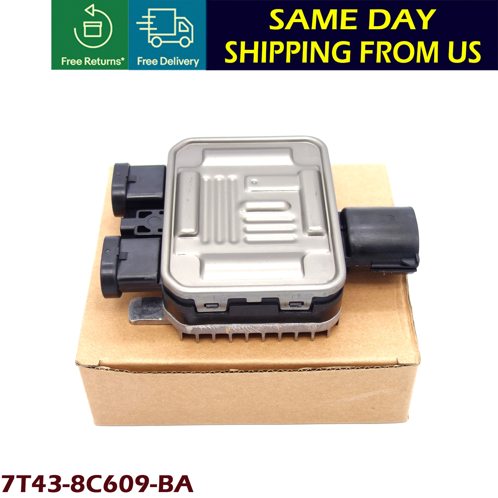 Details about FOR VOLVO S60 S80 V70 XC70 COOLING FAN RELAY RADIATOR CONTROL  MODULE BRAND NEW